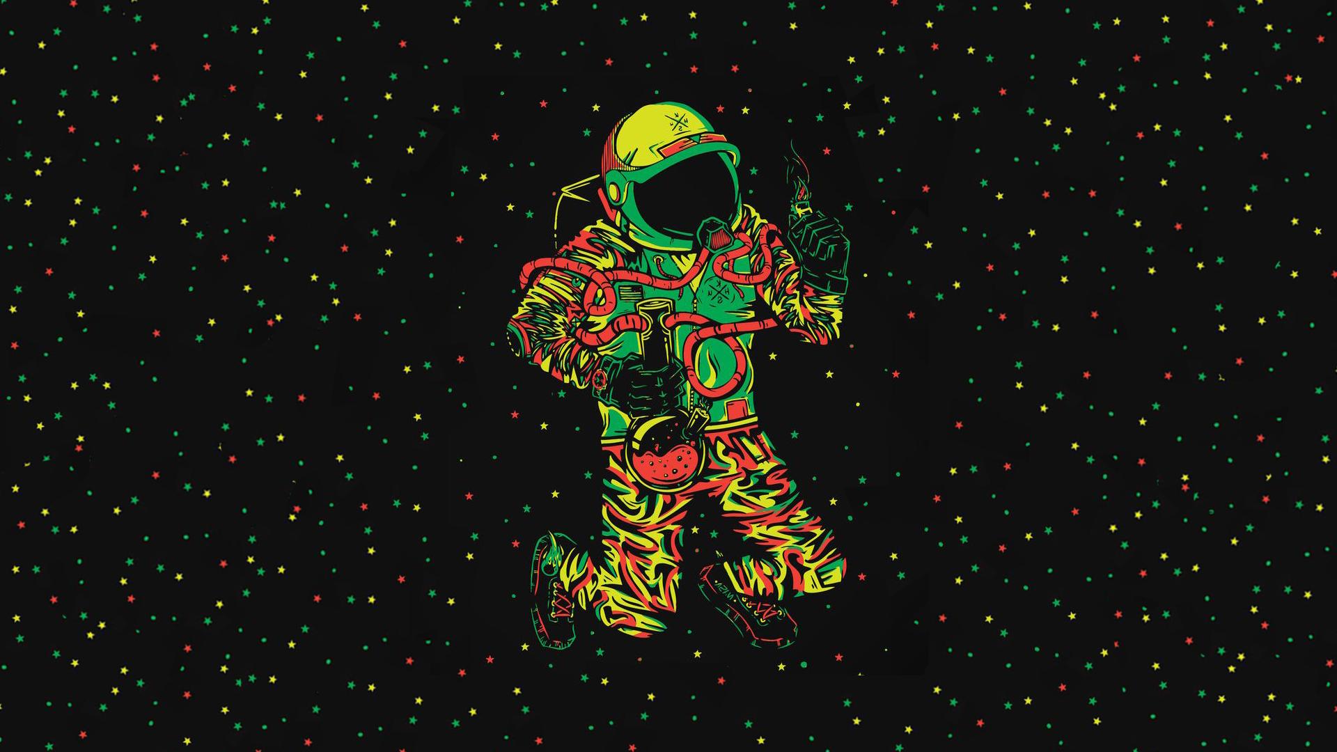 космос трава космонавт space grass astronaut  № 3317159 бесплатно